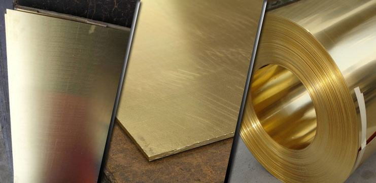 Brass Plate Supplier Perforated Brass Sheet C360 Brass Coil Manufacturer